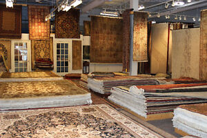 up to 75% off area rugs at Caspian Rugs Centre!