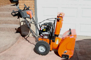 Husqvarna 24 inch model 224 gas snow blower