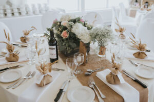 Decorations and Materials for the Perfect Rustic Wedding!