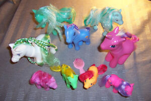 *New Price* My Little Pony collectible dolls lot