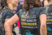 Mudmoiselle volunteers URGENTLY needed on August 17th at Adanac!