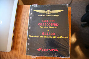 Honda Goldwing/F6B 2012-2017 Genuine Service Manual 61MCA65