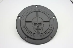 """Sniper """"Without Warning"""" Eclipse Harley Davidson Derby Cover"""