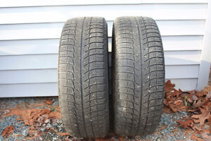 4 Michelin Winter Tires (205 55 R16) and Rims