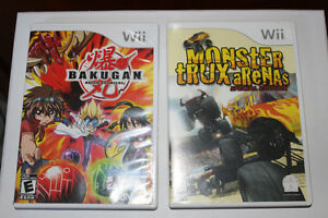 """ BAKUGAN "" Wii game"
