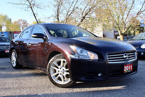 2011 NISSAN MAXIMA 3.5 SV - ACCIDENT FREE - LOADED - CERTIFIED!