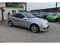 Mercedes-Benz C180 Kompressor 1.8 AUTOMATIC 3 DOOR SILVER 2008