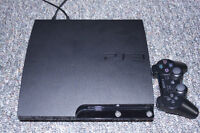 SONY PLAYSTATION 3 + EARPIECE + GAMES