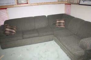 Selling a Green L Shape Couch