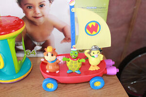 Wonder Pets and Fly boat