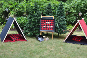 Play Tents 2 Available Black and Red For Birthday Party or Fun!! Kitchener / Waterloo Kitchener Area image 1