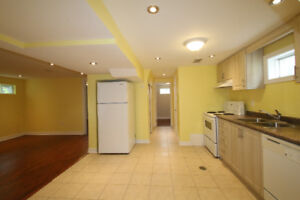 Renovated 3-bedroom basement for rent