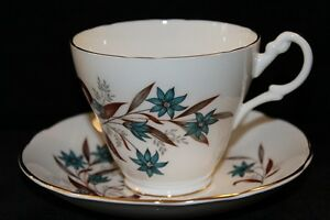 ROYAL ASCOT BONE CHINA TEA CUPS