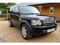 2012 12 LAND ROVER DISCOVERY 3.0 4 TDV6 COMMERCIAL 1D AUTO 210 BHP DIESEL