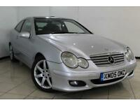 2005 05 MERCEDES-BENZ C CLASS 2.1 C220 CDI SE SPORTS 3DR AUTOMATIC 148 BHP DIESE