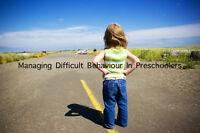 Managing Difficult Behavior In Preschoolers