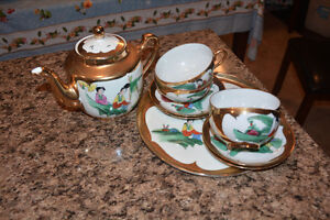 Ornamental Tea Set