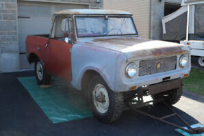 1962 International Scout 80 with title in hand