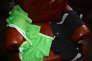 Girls Sports clothes, shorts and tops