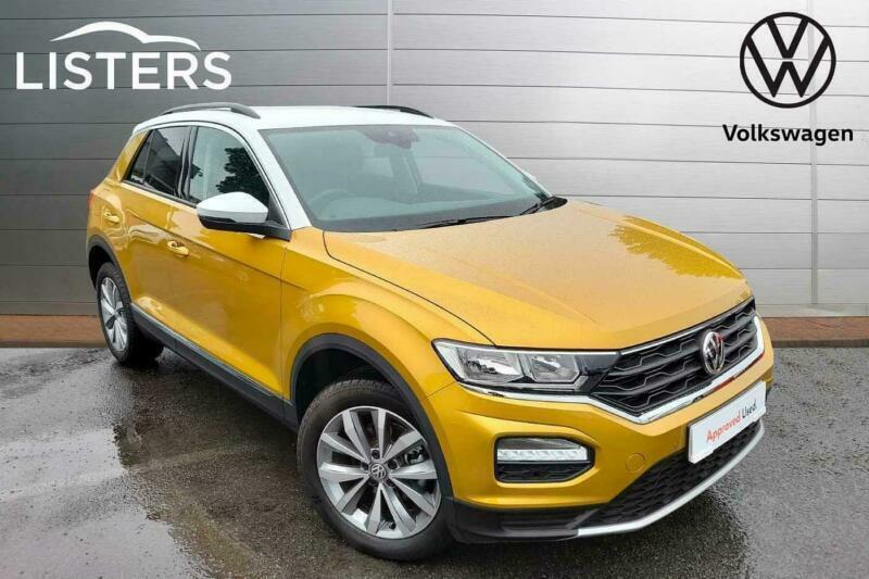 2020 Volkswagen T-ROC HATCHBACK 1.0 TSI Design 5dr SUV Petrol Manual