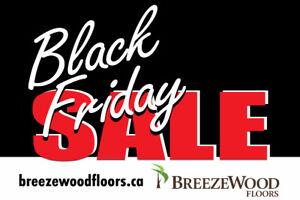 HARDWOOD FLOORS • BLACK FRIDAY SALE • NOV 23 – 25