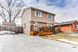Move-In Ready!! 2-Storey Det' Home 4 Bed / 2 Bath / Fin Bsmnt