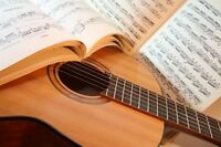 Acoustic guitar lessons wanted
