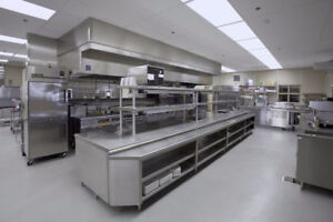 COMMERCIAL KITCHEN FOR SUB-LEASE!