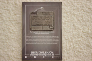 The Tragically Hip Pewter Stone Ornament - Collector's Item