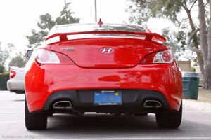 Aileron Spoiler Genesis Coupe Rouge