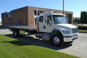 NEW 2016 Freightliner M2 106 Extended Cab Tow Truck Tilt Deck