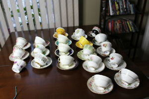 Bone China assorted Tea cups