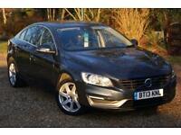2013 13 VOLVO S60 2.0 D3 SE 4D 134 BHP DIESEL, 1 OWNER, FVSH, £30 TAX, SENSORS
