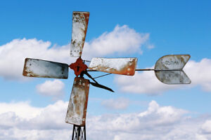 Need big fans blade propellers. To finish my wind turbine