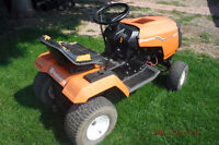 RIDING TRACTOR AND MOWER ( 42 in. cut )