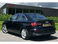 2020 Audi A3 Saloon Sport 35 TFSI 150 PS S tronic Semi Auto Saloon Petrol Autom