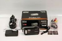 Great Sanyo Xacti GH2 14MP HD Camcorder + Batteries + Pouch