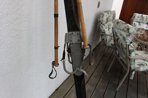 70 Year old skis for sale - great for a display