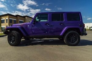 2016 JEEP WRANGLER UNLIMITED PLUM CRAZY PURPLE 0% 84 MONTHS OAC