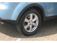 2012 Ssangyong Korando 2.0 TD (175bhp) EX (4WD) Diesel blue Automatic