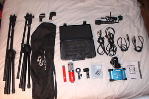 Home Studio Ensemble (Includes 3Mics, Stands, Phantom Power etc)