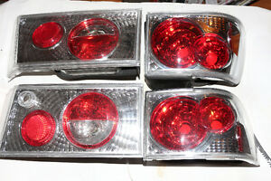 Accord 1990-1991 Performance Clear Taillight Set BRAND NEW