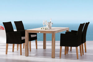 NEW!  Outdoor Wicker Dining and Patio Furniture with SUNBRELLA Comox / Courtenay / Cumberland Comox Valley Area image 5