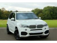 2016 BMW X5 X5 xDrive40d M Sport Diesel white Automatic for sale  Bury St Edmunds, Suffolk