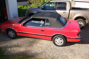 1988 Chrysler Lebaron Convertible, Restored and CERTIFIED! MINT!