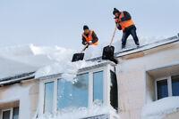 Déneigement de toiture - MONTRÉAL-WEST ISLAND-LAVAL 514-886-4630
