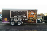 16'' Keg Trailer, Refrigerated Trailer