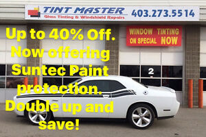 Up to 40% off on Professional Automotive window tinting