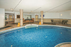Swim in the Warm Indoor Pool All Winter Executive Condo Halifax