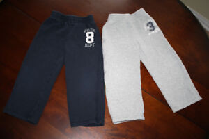2 Pairs Sporty Track Pants 4T